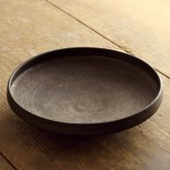 w2519-1501 φ21.7x4.3金釉台形皿
