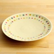 w2545-701 φ20.8いろどり丸紋皿