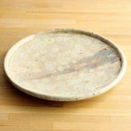 w2591-1001 φ30.8粉引き大皿