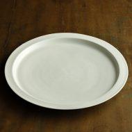 w2602-6001 φ30.0白磁大皿