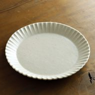 w2684-1301 φ21.5x2.2白菊輪布目皿