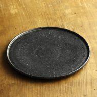 w2706-1201 φ28.0x2.5黒平皿(黒木泰等)