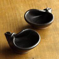 w3001-25-2 8.3x6.8x3.1九谷変形豆鉢