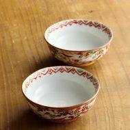 w3019-40-2 φ8.0x3.2有田赤絵豆鉢