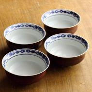 w3069-50-4 φ9.5x4.2清水染付鉢