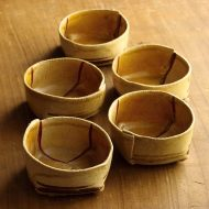 w3072-60-5 8.2x8.0x3.4ふくさ黄角小鉢