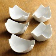 w3084y-15-5 7.5x6.5x3.5白磁あわせ豆鉢