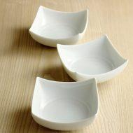 w3512-40-3 11.2x11.24.8青磁縁つまみ角小鉢