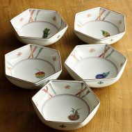 w3530-45-5 φ13.0x4.0久谷六角鉢