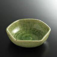 w3614-15-1 φ12.2x3.2六角緑浅鉢