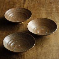 w3631-30-3 13.5x11.5x3.2茶平鉢
