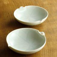 w3647-100-2 13.0x12.4x3.1青磁花型鉢