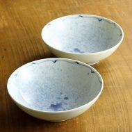 w3701-30-2 φ13.3x4.2染付吹き墨取鉢