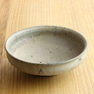 w3702 灰白リム小鉢(清岡 幸道)