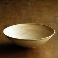 w3731-25-1 φ15.4x4.6薄茶平鉢 はしもと さちえ