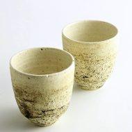 w6133-50-2 φ7.3x7.7粉引き刷毛目茶器