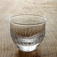 w6168-90-1 φ8.2x7.0冷茶グラス泡らせん(田沼 英里)