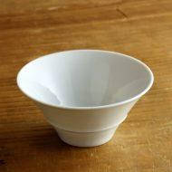 w6172-45-1 φ10.5x4.8白磁口広茶碗(東 剛太郎)