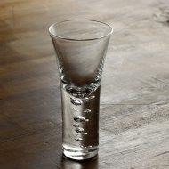 w6423-90-1 φ5.0x10.0スガハラガラス神秘的に立ち昇る泡 ショット