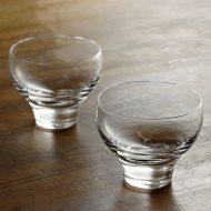 w6424-30-2 φ7.2x5.5スガハラガラスすきやぐいのみグラス