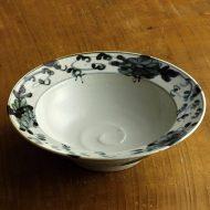 w7016-120-1 φ17.8x5.2有田製窯 古染付つば鉢