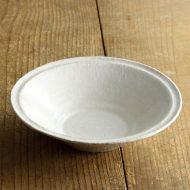 w7039 粉引きリム鉢(喜多村 光史)