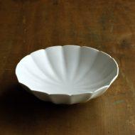 w7065-80-1 φ15.5x4.2マット白菊形鉢