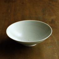 w7313-90-1 φ16.0x4.5青磁渦巻き平鉢