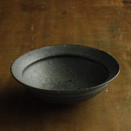 w7370-90-1 φ15.5x5.0黒粗目鉢
