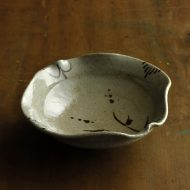 w7382-120-1 φ16.0x5.0灰変形鉢