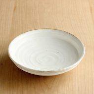 w7415-35-1 φ16.0x3.8半艶なし白浅鉢