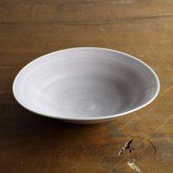 w7431-100-1 18.2x17.6x4.2紫変形鉢 (藤井憲之)