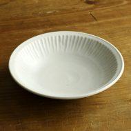w7439-100-1 16.0x3.9青磁縁しのぎ鉢