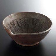 w7510-200-1 26.0x25.0x10.3立杭片口すり鉢
