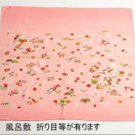 w8082-180-1 72x72くすみピンク祝い模様風呂敷