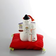 w8090-45-1 8.8x8.8x9.0立ちひな人形