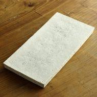 w8265-200-1 28.0x13.7粉引き貫入まな板皿(横山 拓也)
