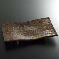w8848-150-1 30.0x18.7濃あめ変形まな板皿