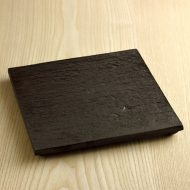 w8853-120-1 21.5x21.5x1.7石板足付角皿