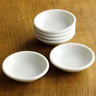 y0001-5-5 φ7.5白ミニ皿