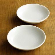 y0041-10-2 φ12.0白すじめ小皿