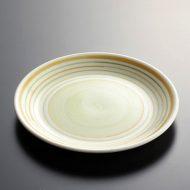 y1001-20-2 φ14.6黄/黄緑ライン小皿