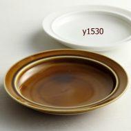 y1032-25-1 φ16.2x2.7あめ色深プレート(S)