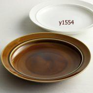 y1039-100-1 φ19.7x3.1あめ色深プレート(M)