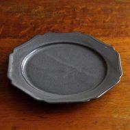 y1065 MANICARRTTOグレー小皿
