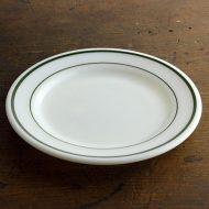 y1069j CORNING緑ライン皿