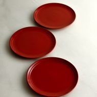y1118 赤ライン皿