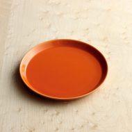 y1200 はさみ焼オレンジ 小皿