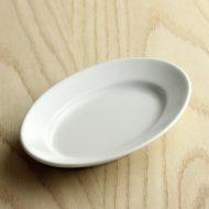 y1549-60-1 19.8x13.0x2.8PILLIVUYT 白楕円皿 小