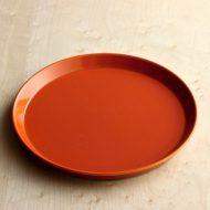 y2009-90-1 φ22.3x1.9かさね焼オレンジプレート
